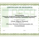 Modelo Diploma Plan Avanzado