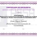 Modelo Diploma Plan Experto