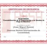 Modelo Diploma Plan Medio